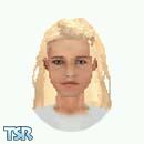 Sims 1 — Attic Carrie by TSR Archive — Character from the book Flowers in the Attic. (Requested) Skin comes in light