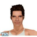 Sims 1 — Ben Stiller by frisbud — Actor Ben Stiller, most recently seen as Starsky from the movie Starsky & Hutch.