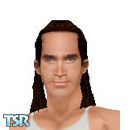 Sims 1 — Adrian Paul by frisbud — Actor Adrian Paul, of the television shows Highlander and Tracker.