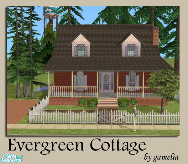 Gamelia 39 s evergreen cottage for Evergreen cottage