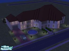 Sims 2 — Casa Amor by angiesupers — Casa amor is a 2 story Spanish house(casa). It has great open floor living area and a