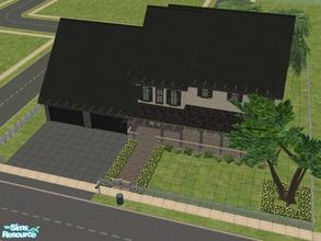 Sims 2 — Weston Drive by KatieKing — This house has a 2 car garage, either 4 bedrooms and 2 baths, or 3 bedrooms and 3
