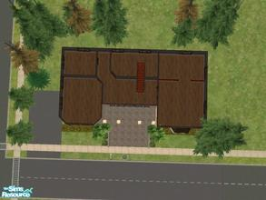 Sims 2 — Avery Street by KatieKing — This house has 3 bedrooms, 2baths, office space, kitchen, living space all in a
