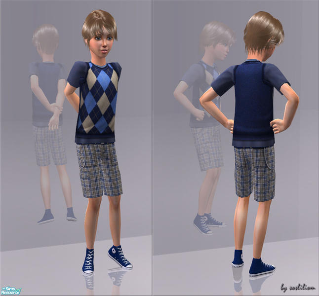 42f1e43b5f4e14 sosliliom s Outfits With Converse - For The Boys (Chequered Converse)
