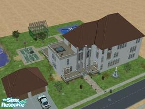 Sims 2 — Da Kiki by angiesupers — This is the largest house i have ever created yet. It has 3 floors, dont worry elevator