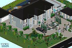 Stephanie b 39 s tv houses the beverly hillbillies for Beverly hillbillies swimming pool