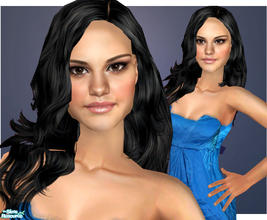 "Sims 2 — Selena Gomez by ChazDesigns — Miley Cyrus\' ""rival\"" also starring in the Disney Channel Original"