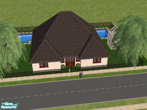 Sims 2 — 22 Piper Lane by Cali95678 — A small Duplex with 1 Bdrm each..1 and a half bath. Room to build up or change into