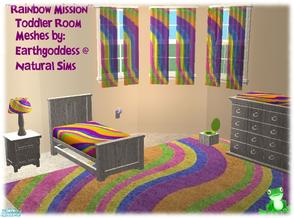 Rainbow Mission Toddler Room